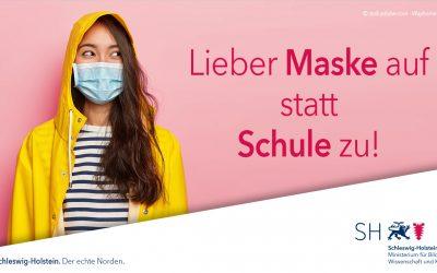 Zur Maskenpflicht an den Schulen